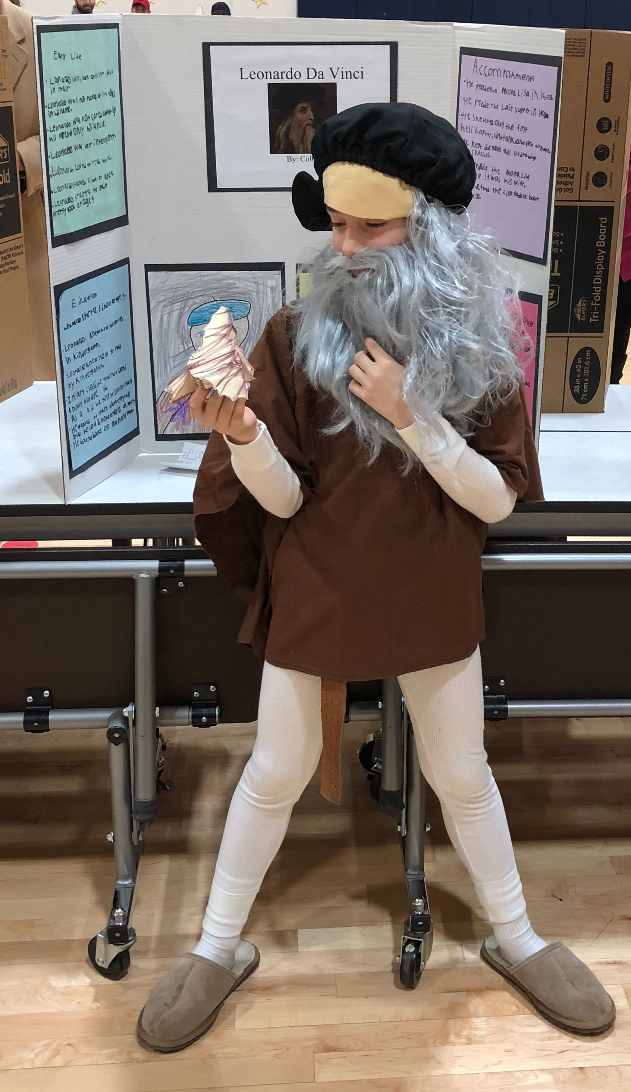 Leonardo Da Vinci Wax Museum At School With Images