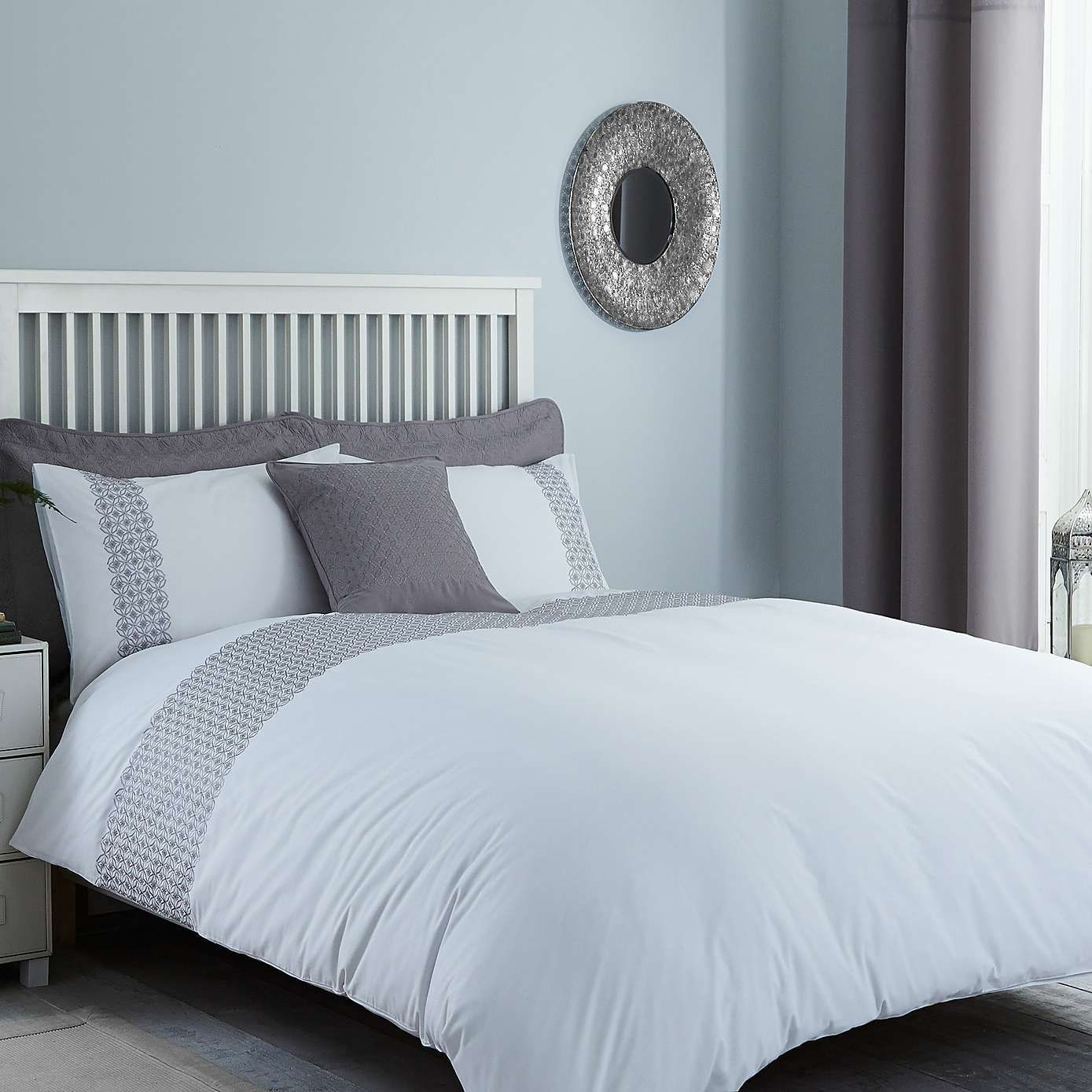 Java Grey Duvet Cover Dunelm Ormskirk Pinterest