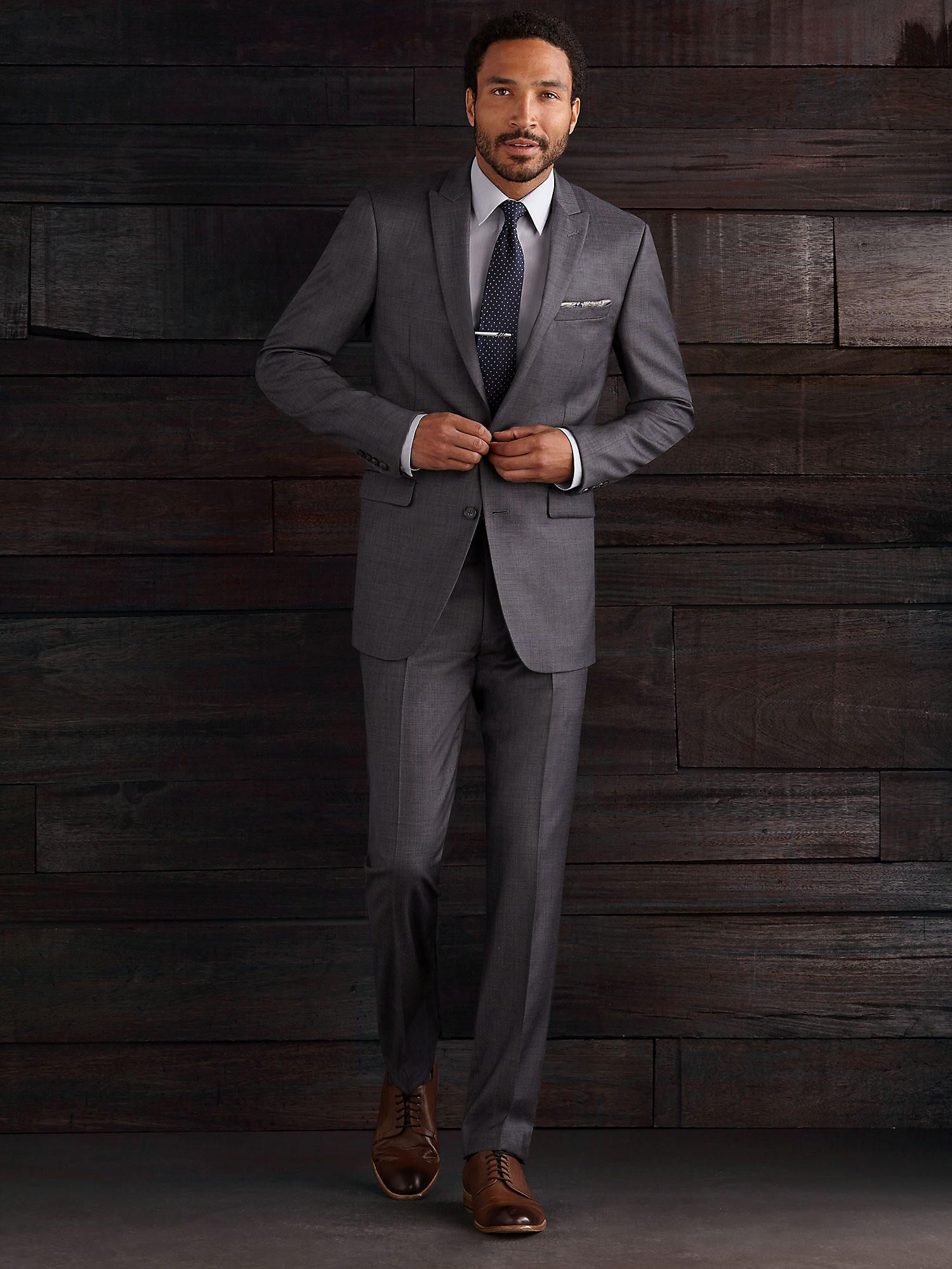 Calvin Klein Gray Sharksin Extreme Slim Fit Men's