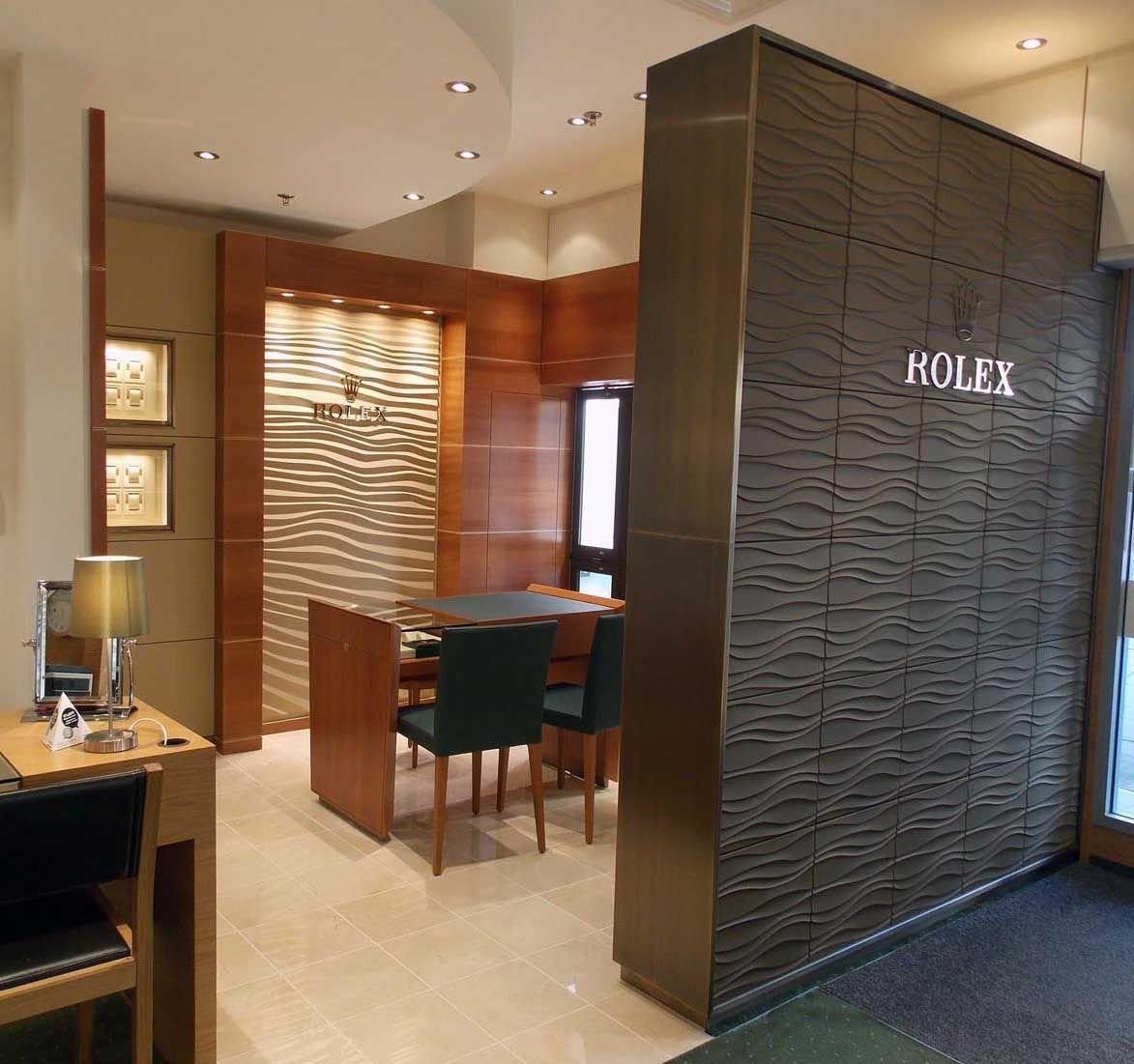 Rolex shop interior google search retail design for Interior design negozi