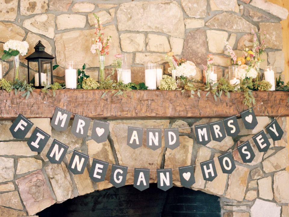 結婚式のホオジロのバナー