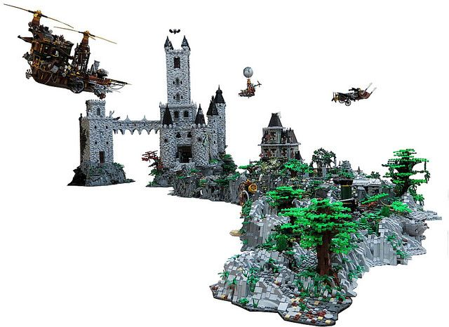 Vampire's Castle | Lego, Lego castle and Legos