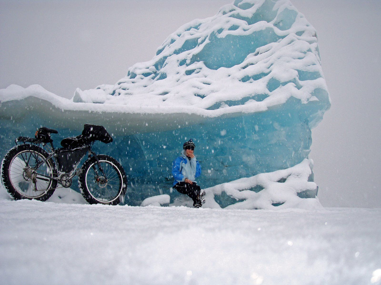 Snow Fall Fat Bike ….Set your mind free on a Fat Bike and see where it takes you