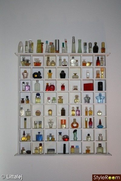 Perfume Rack Wow I Really Need One Of These Miniature Perfume