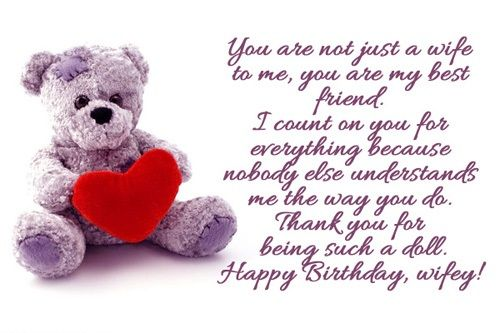 Birthday Quotes For Wife Quotes Birthday Wishes For