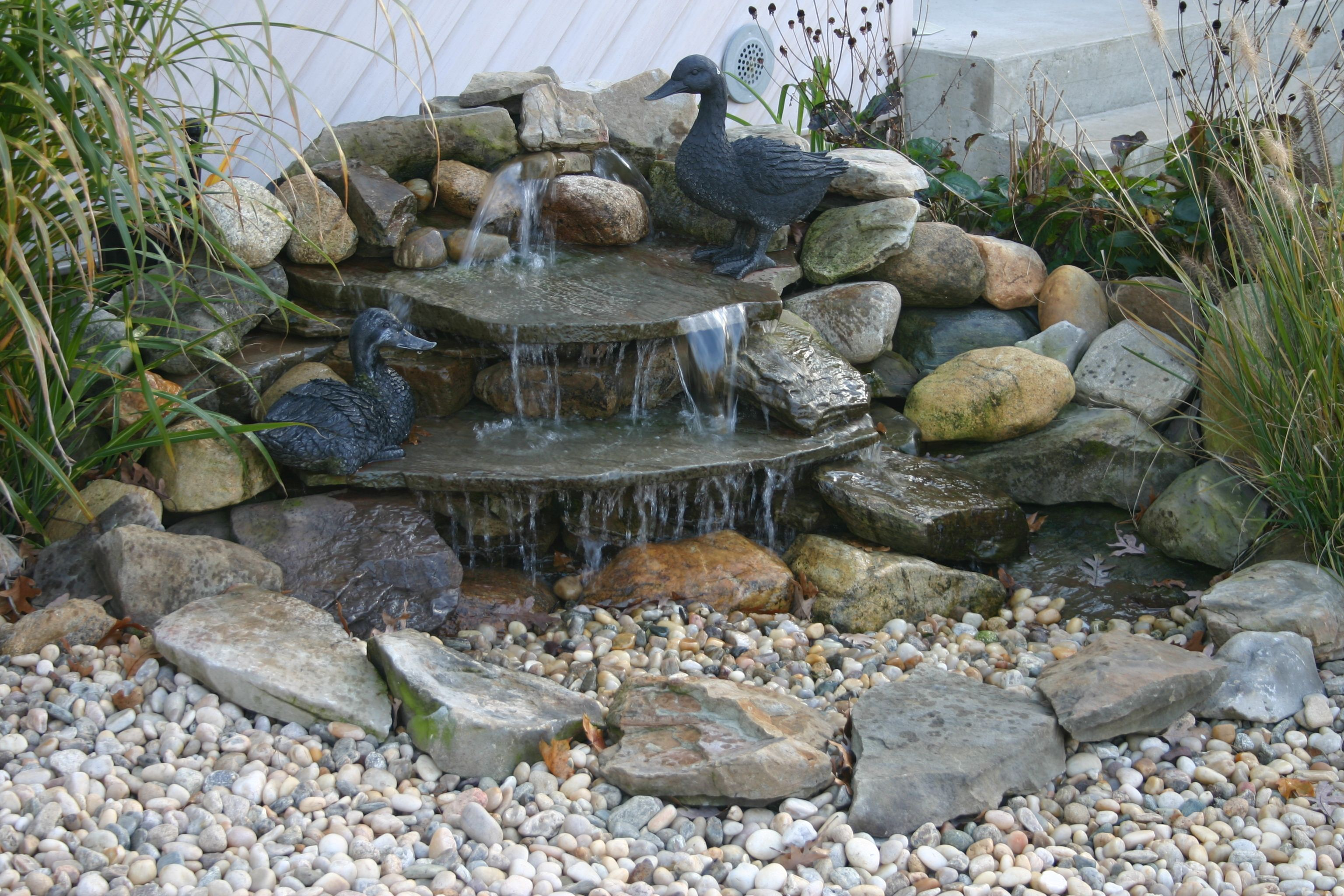 Aesthetically pleasing pondless waterfall totalpond