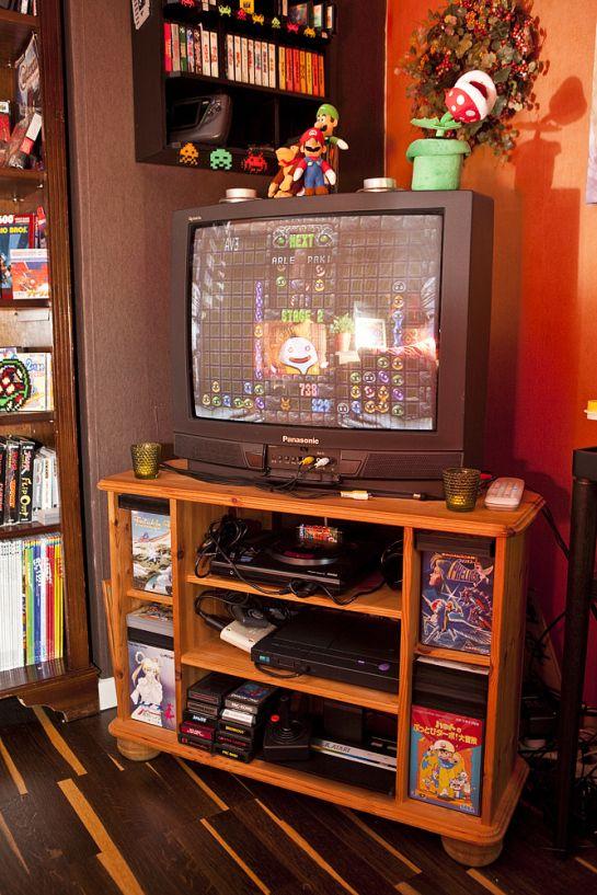 Tv Setup 3 Retroroom Gameroom Gamecollection Gamecollector
