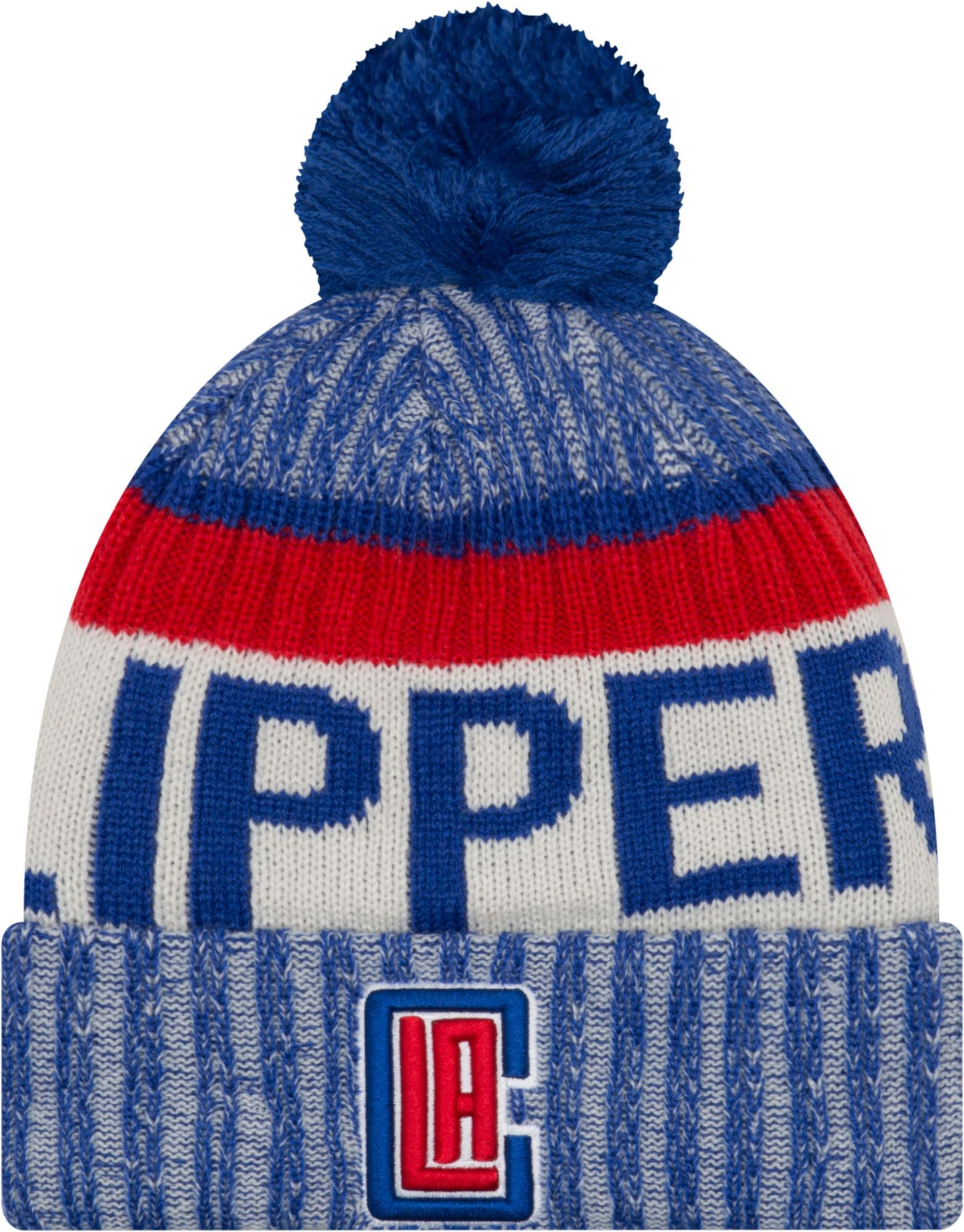 half off 445e1 3a928 New Era Men s Los Angeles Clippers Knit Hat