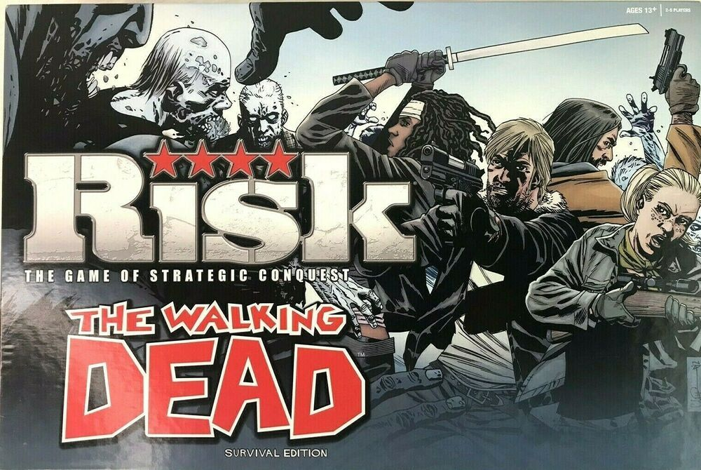 The Walking Dead Risk Survival Edition Strategic Conquest