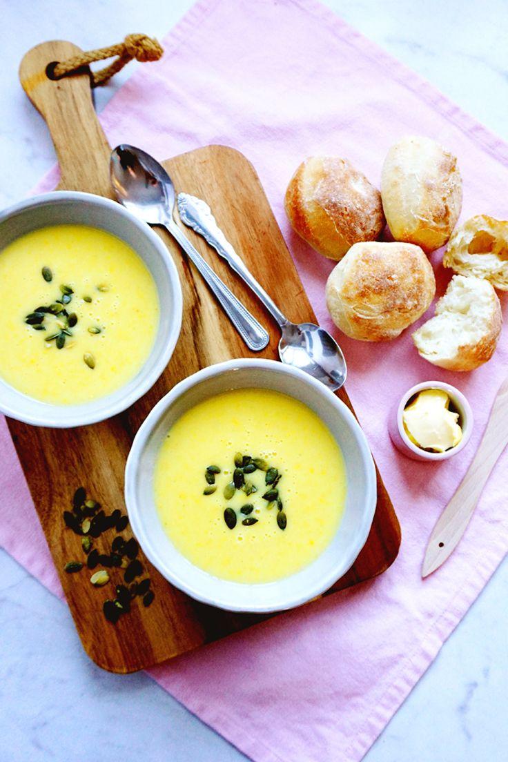 världens godaste majssoppa