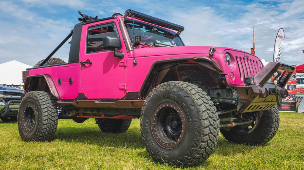 TweetDeck | JEEPS!! | Pink jeep, Jeep, Jeep wrangler