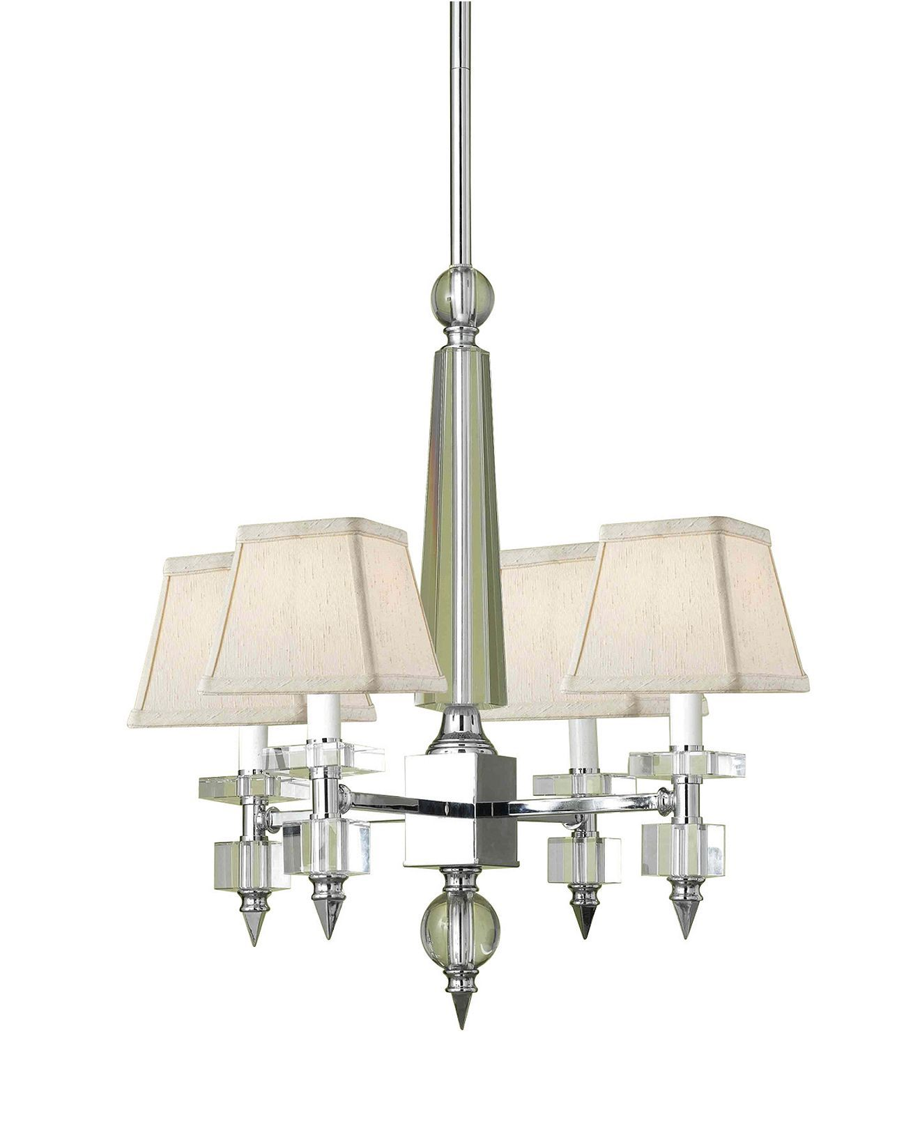 Candice Olson Lighting Cluny Chrome Chandeliers Chandelier