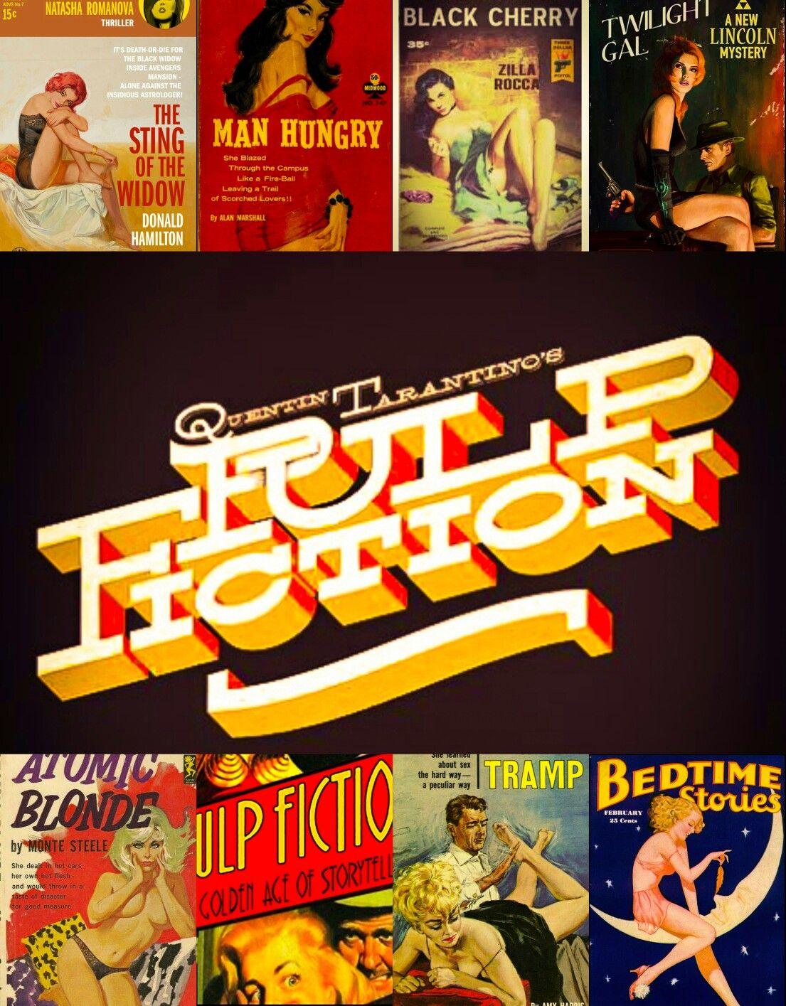 Pulp Fiction poster noir Wallpaper Tarantino Pulp