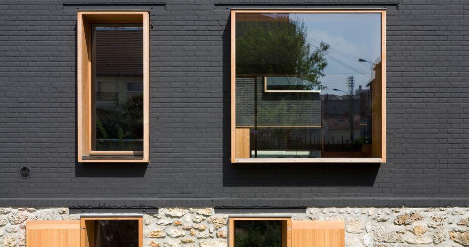 MAISON CLONE - Bois Colombes - 2005-2011 Jacques Moussafir - maison en beton banche