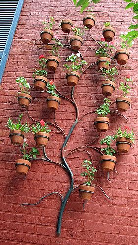 Cool Potted Plant Holder