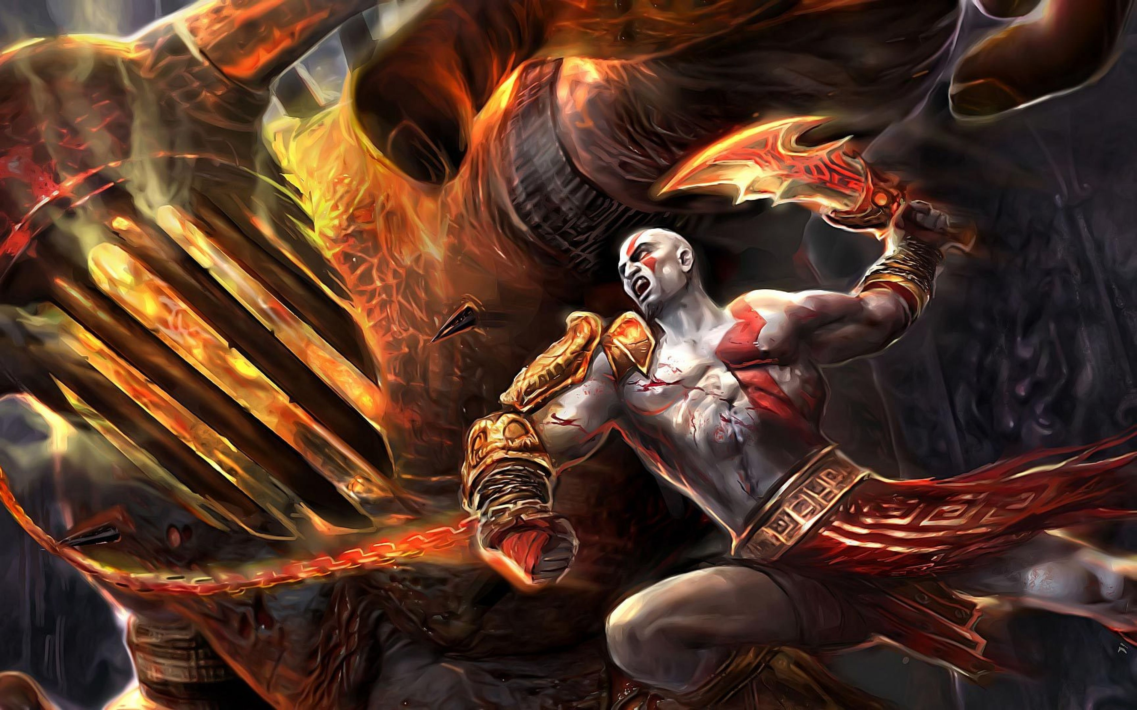 God Of War 3 Kratos Wallpaper Full Hd Tqk Kratos God Of War