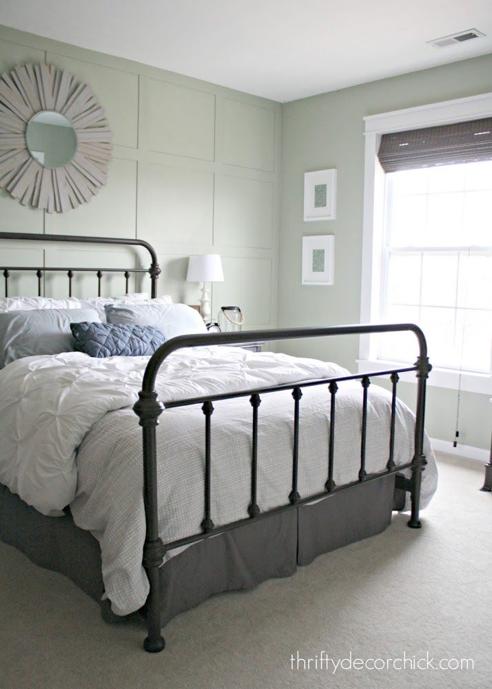 A Pretty New Metal Bed Bedding Master Bedroom Home Bedroom Metal Beds