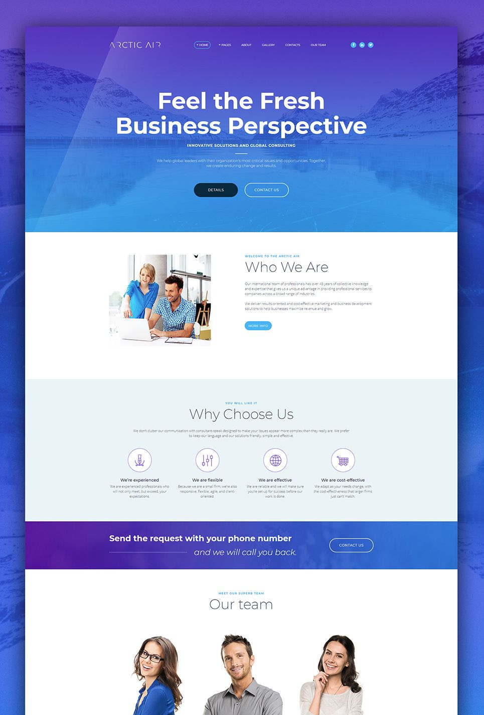 Startup Website Template for Business Web design quotes