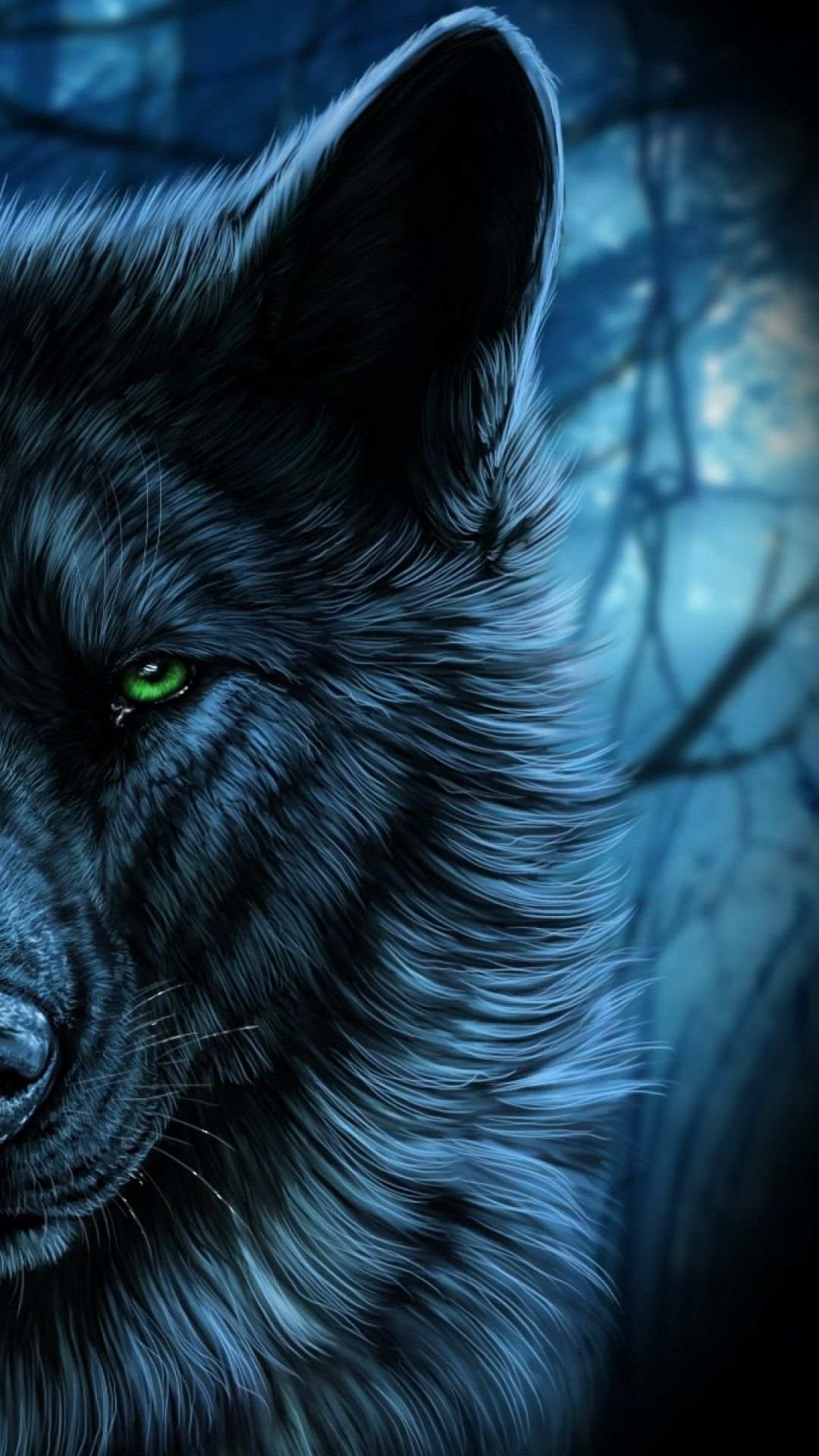 Wolf Wallpaper Android Download wolf Iphone en 2020
