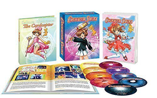 Cardcaptor Sakura Complete Collection BLURAY Set Eps #1-70 Premium