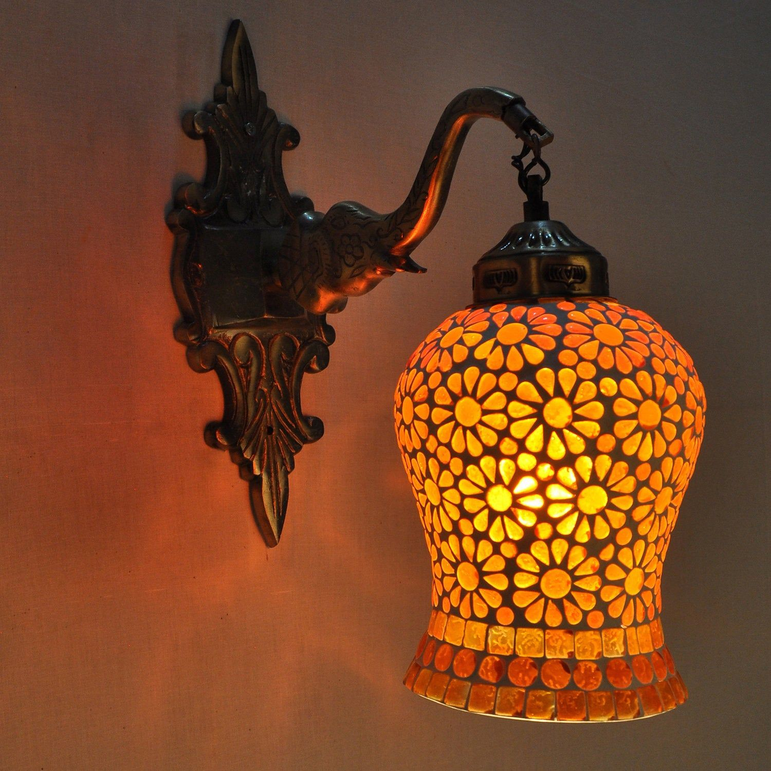 Antique Style Lamps Ceiling Lighting Wall Sconce Metal Fixture