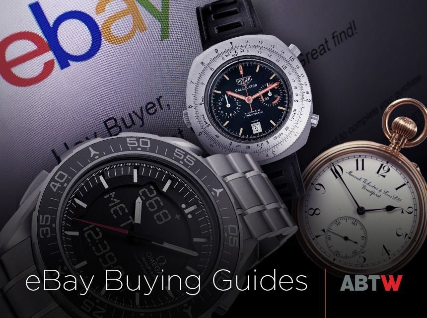 "aBlogtoWatch eBay Watch Buying Guides: Cartier, Breitling, Beater Watches, & More - see all about our guides on aBlogtoWatch.com ""aBlogtoWatch has been producing some buying guides for eBay, and we've got a fresh new batch to share. Now, we know that many 'watch people' know the ins and outs of how to buy, sell, and trade watches online. However, more casual or beginning people who don't have the confidence of experience can find themselves overwhelmed..."""