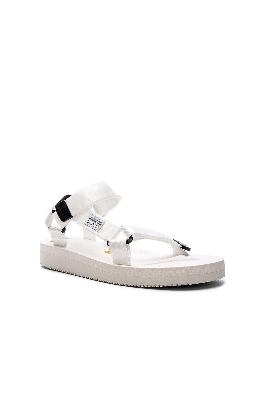 Suicoke DEPA V Sandal in White | REVOLVE | Designer outfits