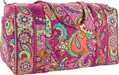 b29d568c996b Vera Bradley Large Duffel Pink Swirls - via eBags.com!