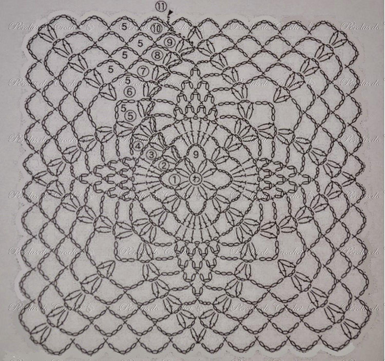 Pap blusa piña   KROCHETA - RECETAS CIRCULO   Pinterest   Crochet ...