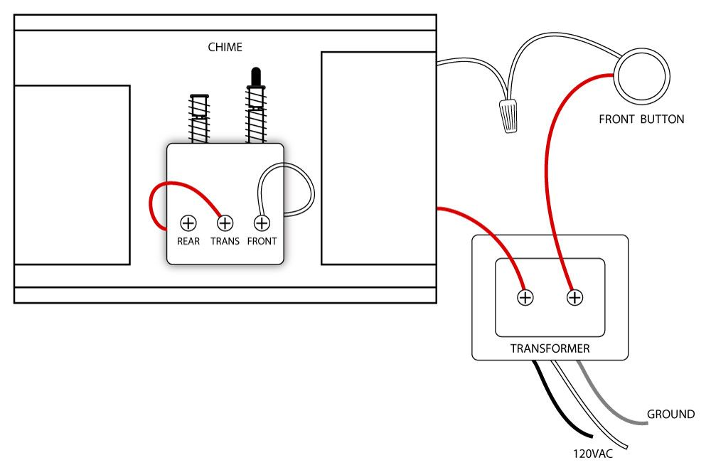 bell chime wiring diagram