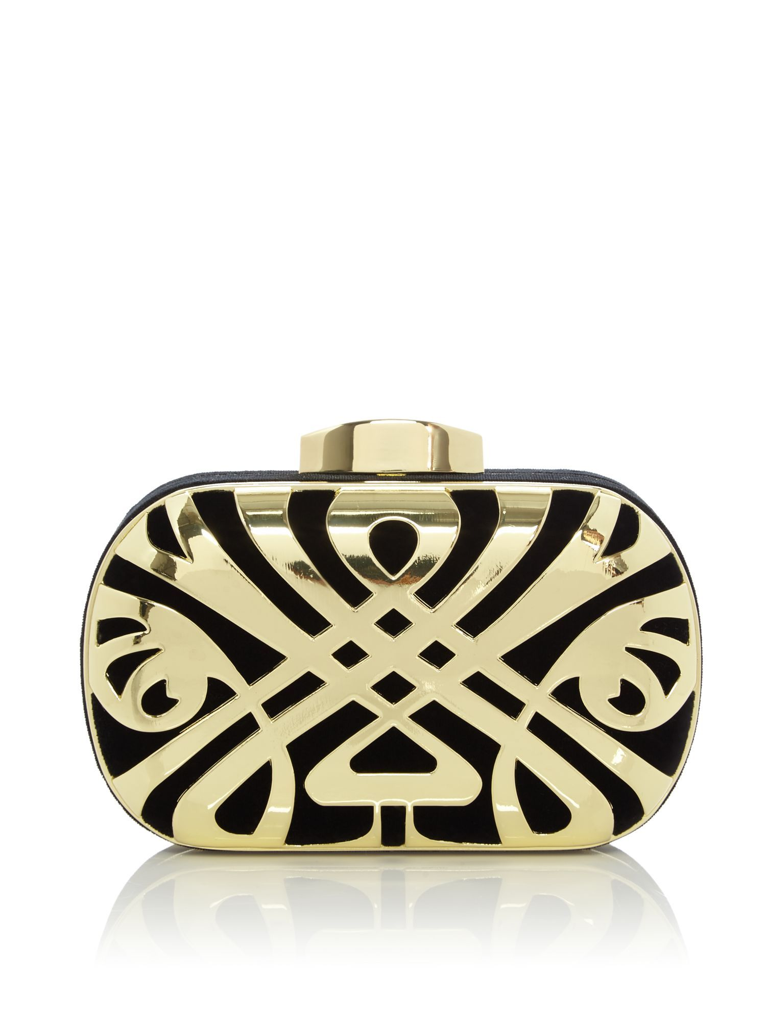 biba logo box clutch lisa 39 s merry gift guide by house of. Black Bedroom Furniture Sets. Home Design Ideas