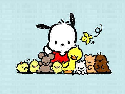 Pochacco and friends! Oh, the memories!