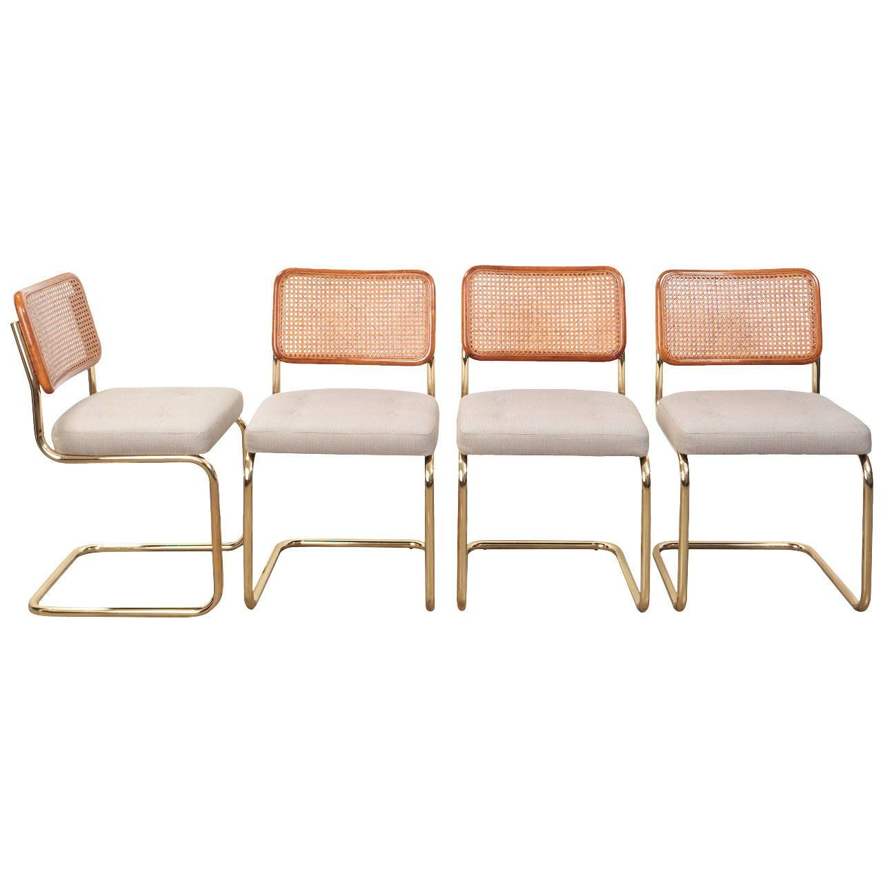 Cesca Chair Reinvented Gold Peach In 2019 Beach Style