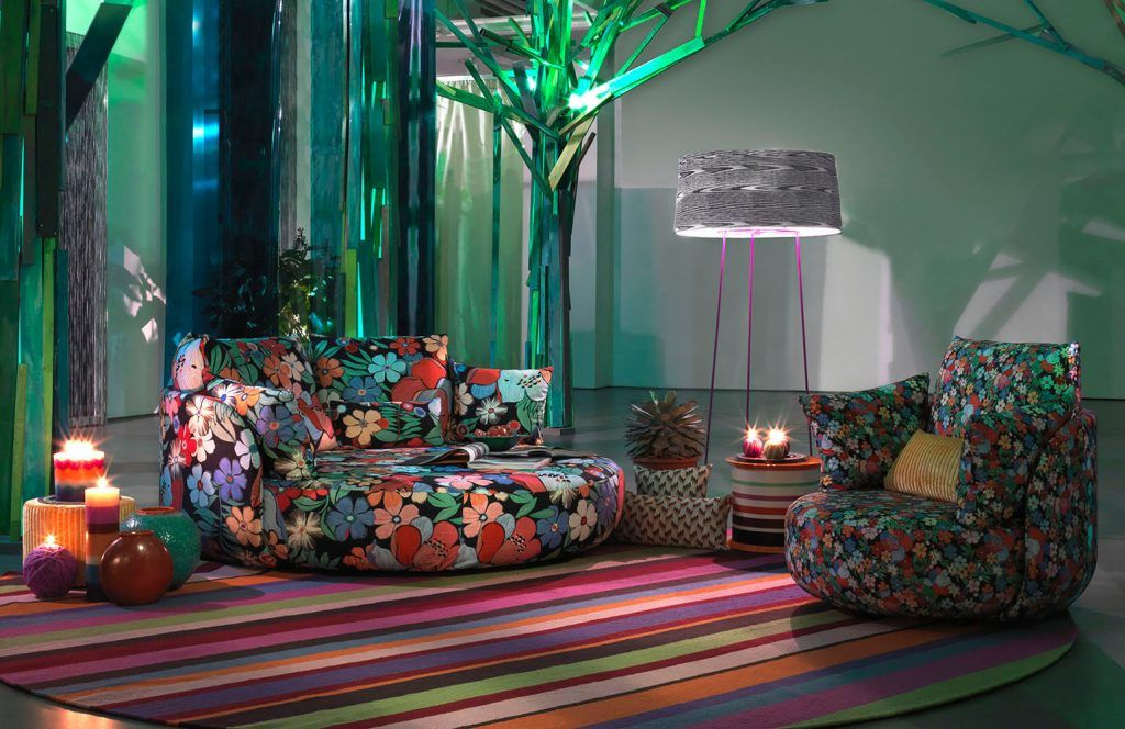 Famous Interior Brands Part 2 Missoni Home Modern Furniture Stores Trending Decor Celebrity living rooms part 2