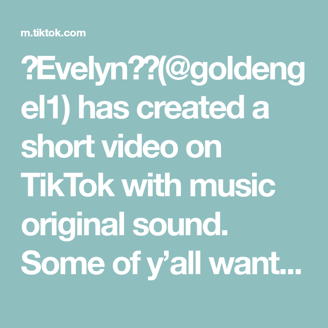 Evelyn Goldengel1 Has Created A Short Video On Tiktok With Music Original Sound Some Of Y All Wanted A Tutorial In 2020 The Originals Easy Art For Kids Layton