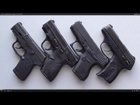 Glock 43 vs M&P Shield vs Ruger LC9 vs Keltec PF9 - Raw Dog