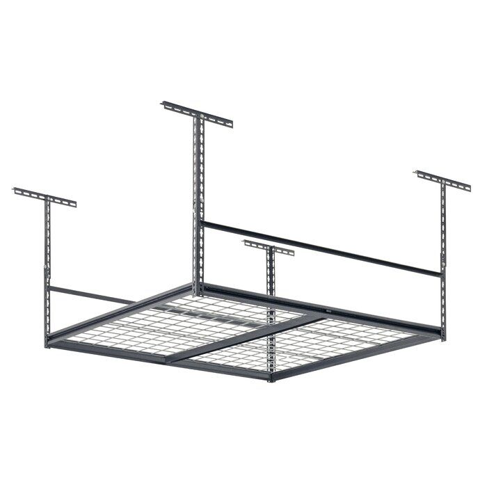 Overhead Garage Adjustable Ceiling Storage Rack