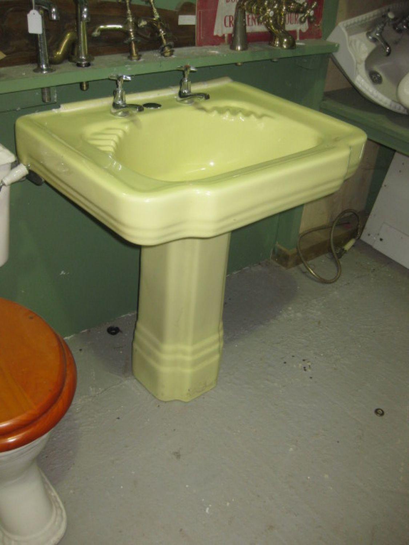 Yellow Baths Art Deco Bathroom