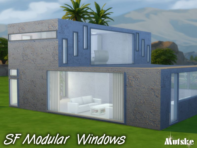 This Modular Window Set In Made Specially For Sf Magazine