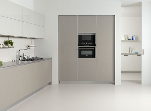 Resultado de imagen de muebles cocina gris claro cocinas - Lavaderos de cocina ...