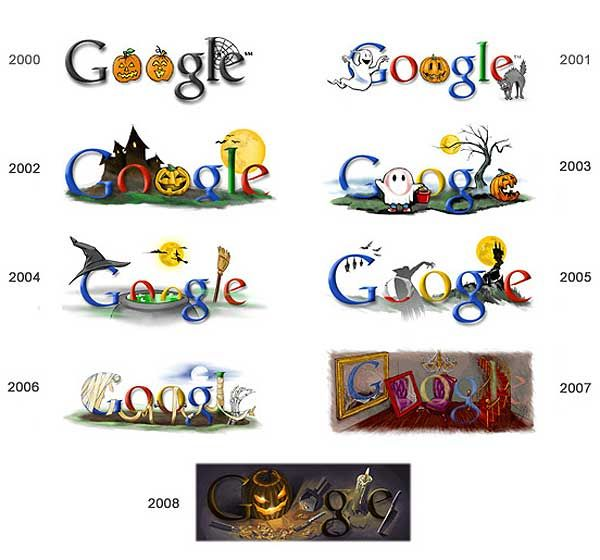 Google Doodle: Halloween   Classroom Decor   Pinterest   Google ...