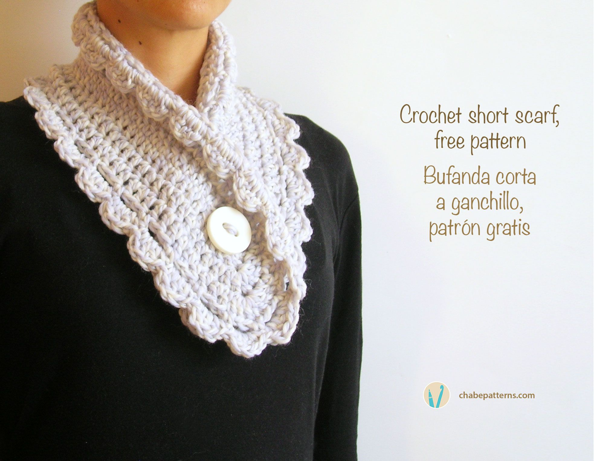 Free crochet pattern, chart with symbols and written instructions ...