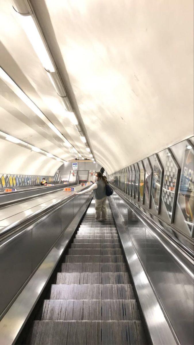 London underground tube vibey friends aesthetic