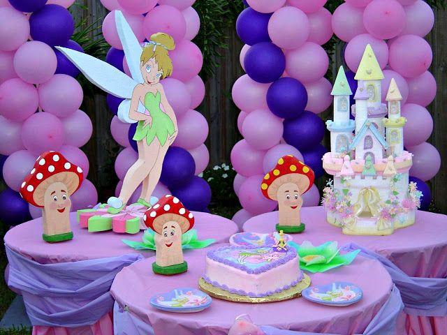 Festa Infantil para Meninas Rosa e Roxo