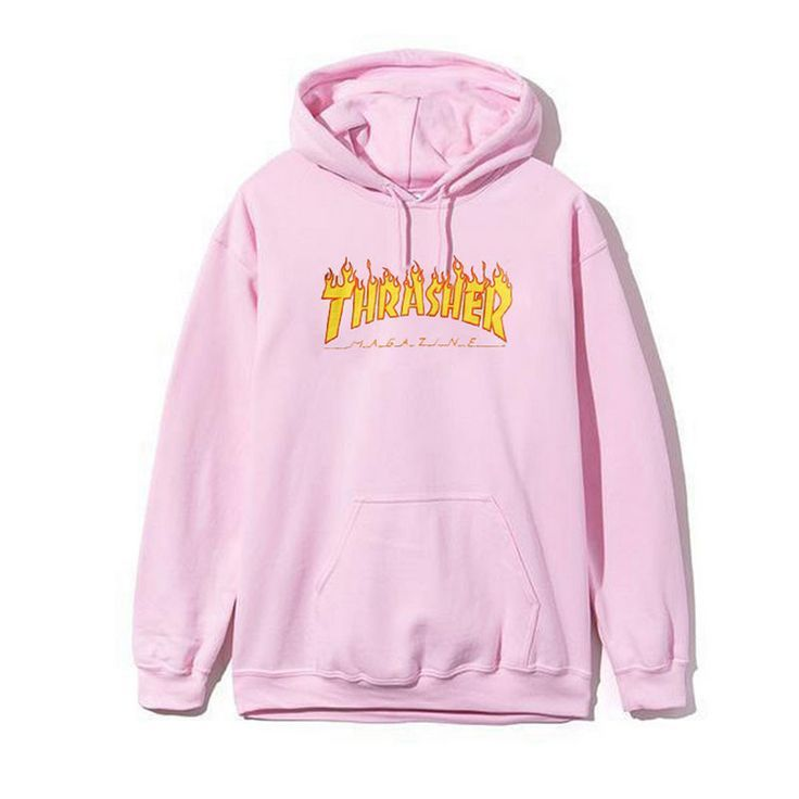 d7abf7845 Image result for baby pink hoodie with black   HoOdIeS   Thrasher ...