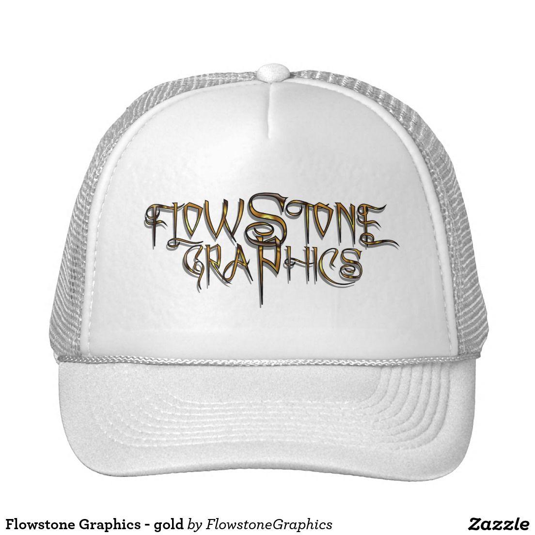 Flowstone Graphics - gold Trucker Hat