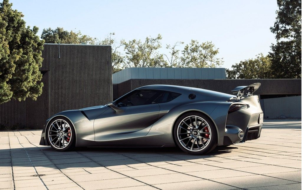 Toyota Reveals Two New Versions Of Supra-Previewing FT-1 Concept ...