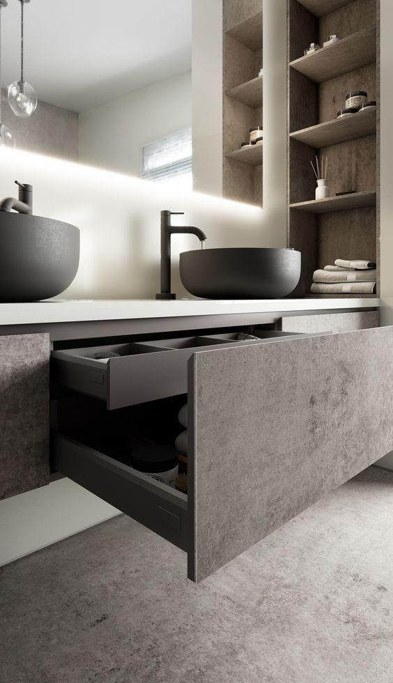 5 Moderne Bad Trends Aus Aller Welt Denen Sie Folgen Konnen Badezimmer Arbeitsplatten Waschbecken Design Und Badezimmer Innenausstattung