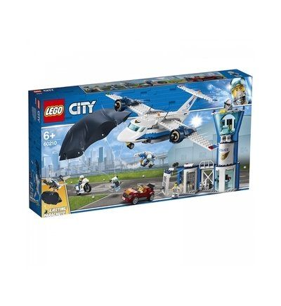 Lego 60210 La Base A Rienne De Police Lego City In 2020 Lego City Lego Police