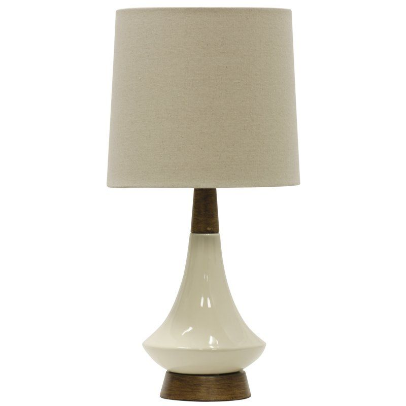 Bouton 22 Heathered Oatmeal Brown Table Lamp Cream Table Lamps Ceramic Table Lamps Table Lamp